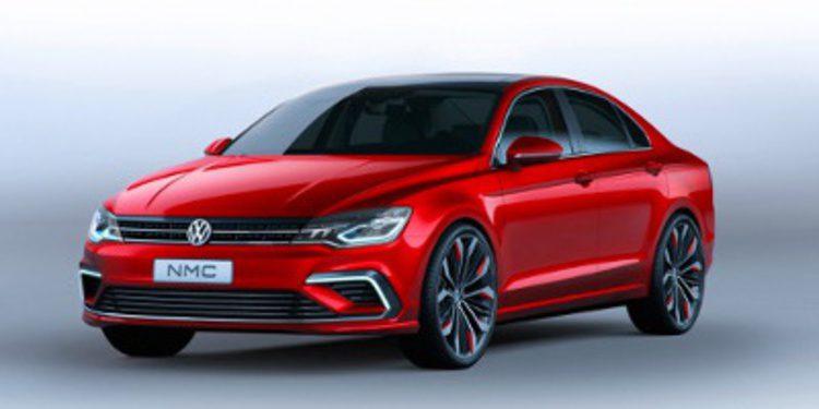 Volkswagen destapa el peculiar New Midsize Coupé concept