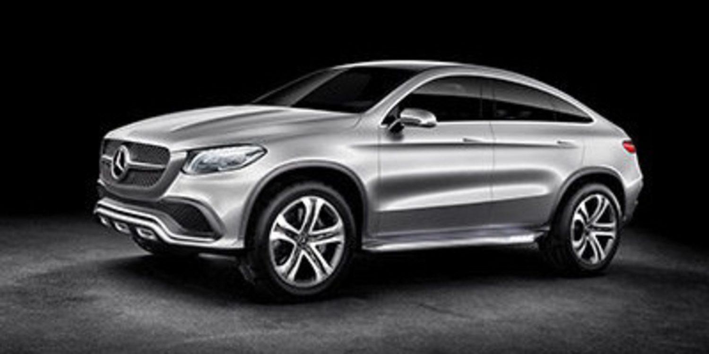 Mercedes Concept Coupe Suv Un X6 Con Estrella Motor Y Racing