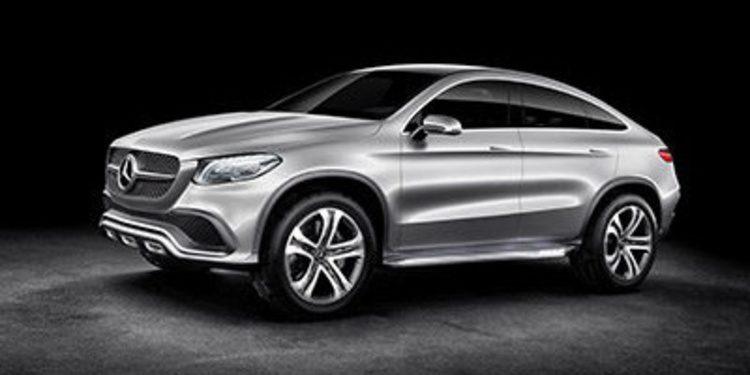 Mercedes Concept Coupé SUV, un X6 con estrella