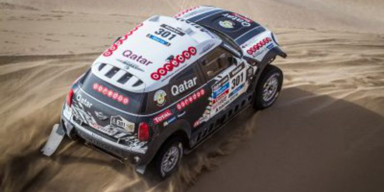 Barreda y Al-Attiyah ganan la primera etapa del Sealine Cross Country Rally