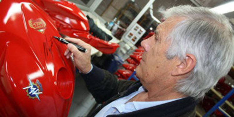 MV Agusta F3 800 AGO en honor a Giacomo Agostini
