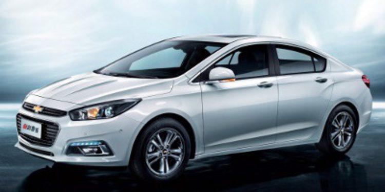 """GM presenta el """"más nuevo"""" Chevrolet Cruze en Pekín"""