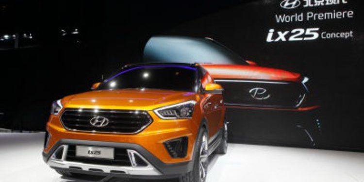 Hyundai presenta su nuevo ix25 solo para China