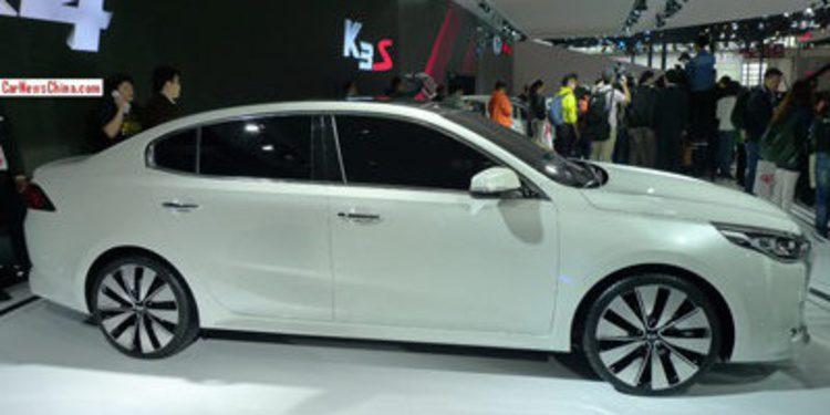 Kia presenta en Pekín el nuevo K4