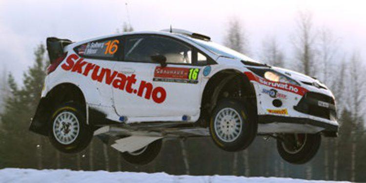 Henning Solberg a tiempo completo en el WRC en 2014