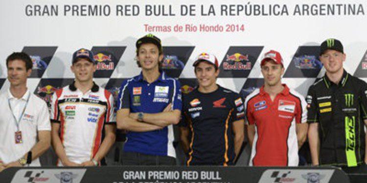 Rueda de prensa oficial del GP de Argentina de MotoGP 2014