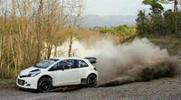 Nuevo test del Toyota Yaris WRC en tierra