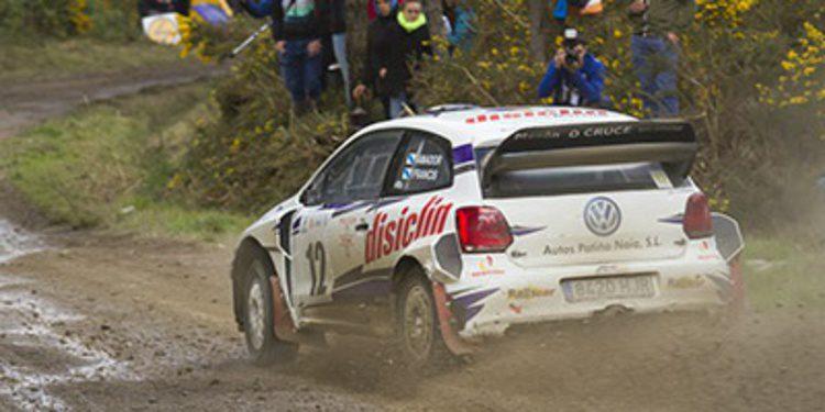 Amador Vidal resiste al Rally de Curtis
