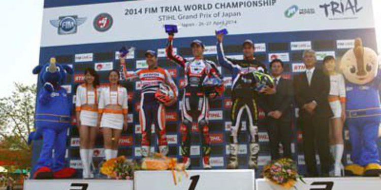 Adam Raga gana el Trial de Japón ante la lesión de Bou