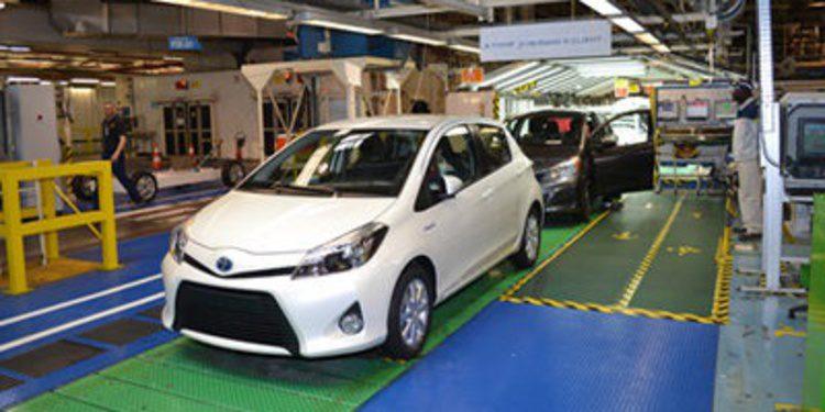 Toyota fabrica el Yaris francés 2,5 millones