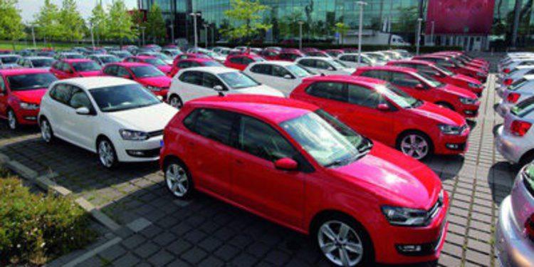 Volkswagen produce en Navarra el último Polo 2010