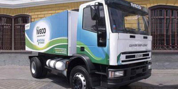 Iveco manda en el sector de los camiones a gas