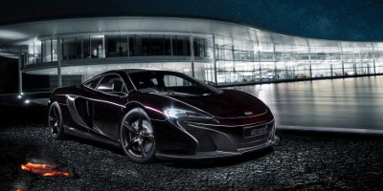 McLaren presenta el MSO 650S coupé concept