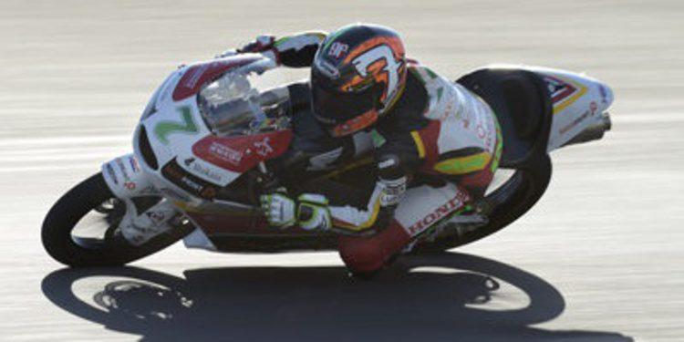 Efrén Vázquez cierra el FP2 de Moto3 en Jerez al mando