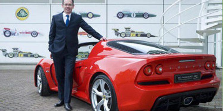 Jean-Marc Gales, nombrado CEO de Lotus