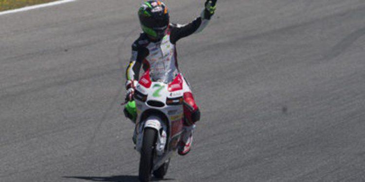 Efrén Vázquez y más calor en los FP3 de Moto3 en Jerez