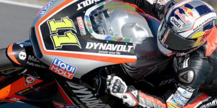 Sandro Cortese lidera los FP3 de Moto2 del GP de España