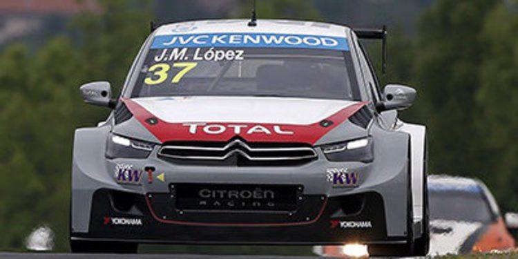 Yvan Muller consigue una ajustada pole en Hungaroring