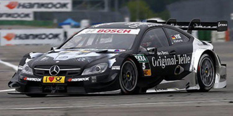 Adrien Tambay consigue la primera pole de su carrera en el DTM