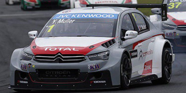 Yvan Muller lidera otro doblete de Citröen en Hungaroring