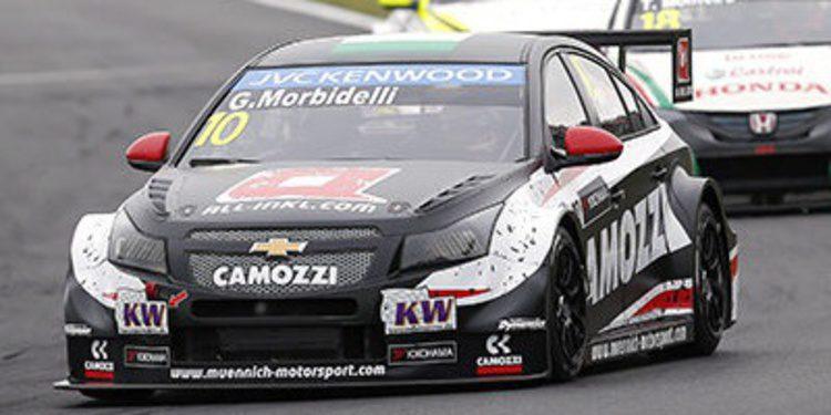 Gianni Morbidelli consigue una gran primera victoria para Munnich Motorsport