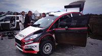 Test de pilotos del WRC2 previos al Rally de Argentina
