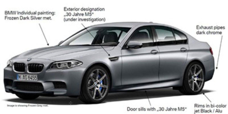 Cazado el nuevo BMW M5 30 Aniversario