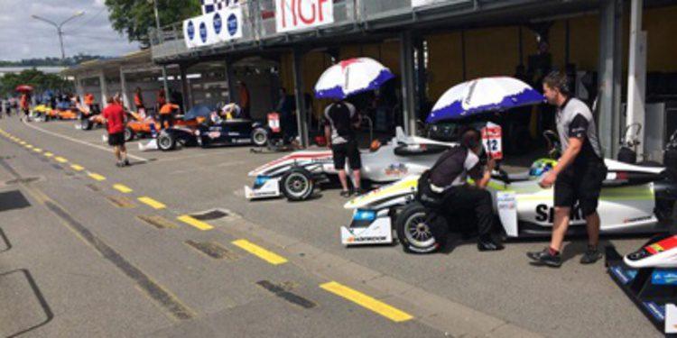 Esteban Ocon, el más rápido de los libres de F3 en Pau