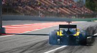 Jolyon Palmer domina los libres de la GP2 en Barcelona