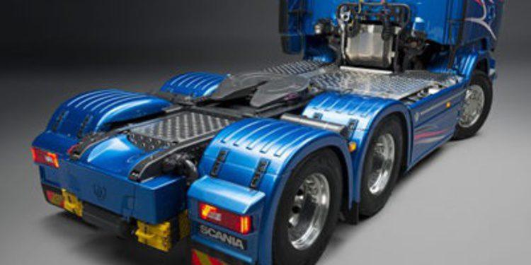 La gama Streamline de Scania se tiñe de 'Blue Stream'