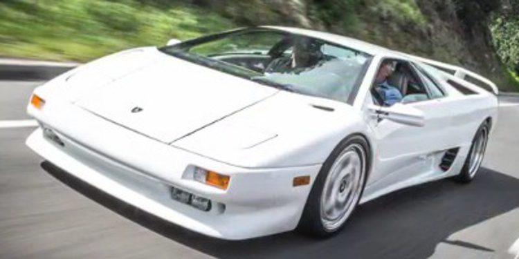 Jay Leno a los mandos del Diablo, el último Lamborghini puro