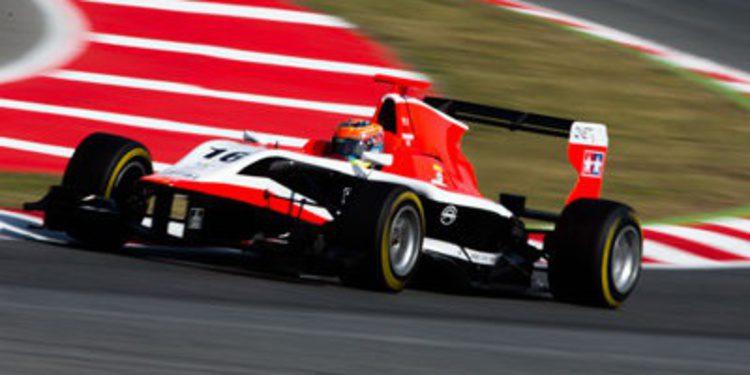 Dean Stoneman regresa a lo más alto en la carrera 2 de la GP3