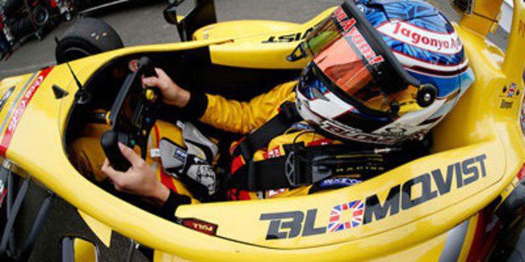 Tom Blomqvist gana bajo la lluvia de Pau en F3