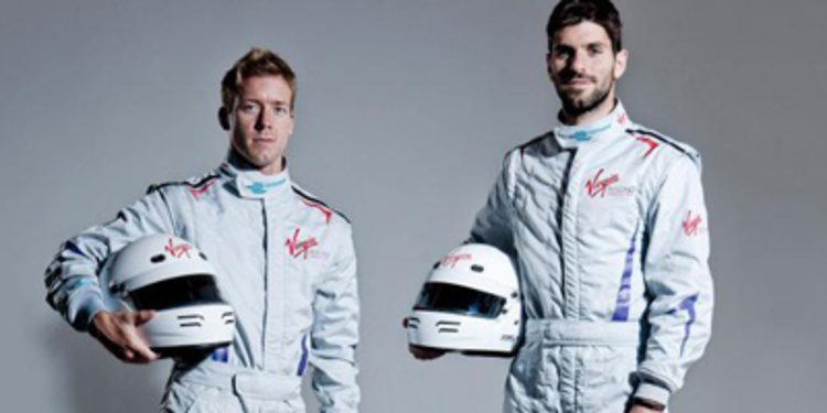 Sam Bird y Jaime Alguersuari con Virgin en la Formula E