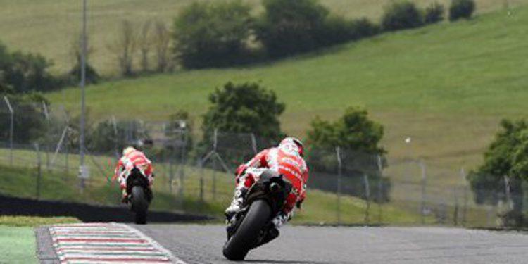Test en Mugello de MotoGP para Ducati y Aprilia