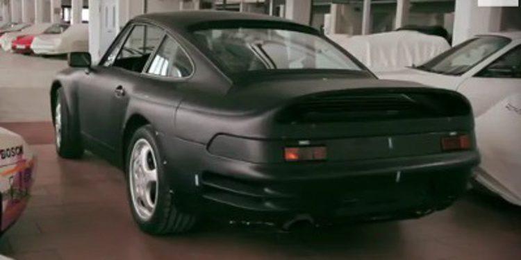 Porsche desvela un prototipo del 911 con motor V8