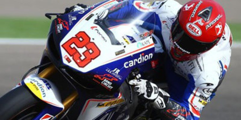 Ni Danilo Petrucci ni Luca Scassa con Ioda en Le Mans