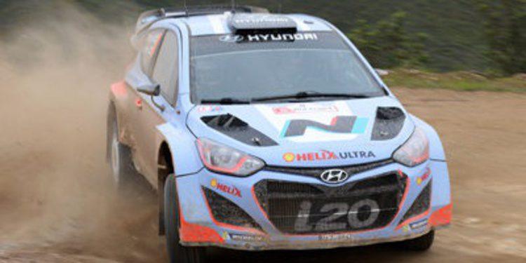 Juho Hänninen con Hyundai en Polonia y Dani Sordo en Goodwood