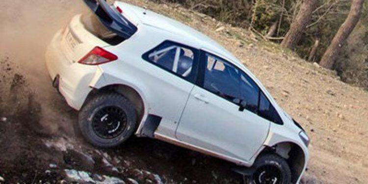 El Toyota Yaris WRC está siendo probado en Francia