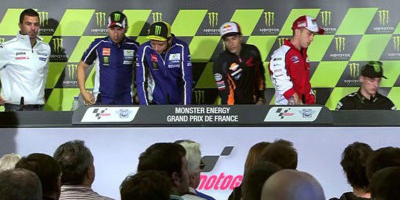 Rueda de prensa oficial del GP de Francia MotoGP 2014