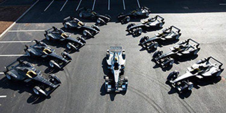 Los equipos de Formula E reciben sus monoplazas