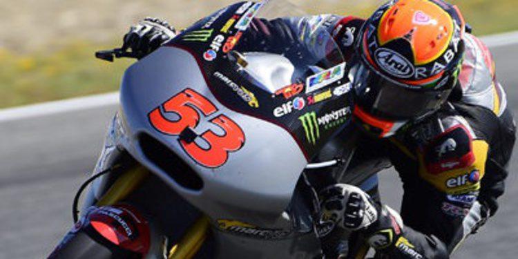 Tito Rabat supera el dolor en el FP1 de Moto2 en Le Mans