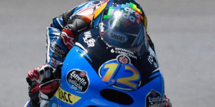 Alex Márquez domina el FP2 de Moto3 en Le Mans