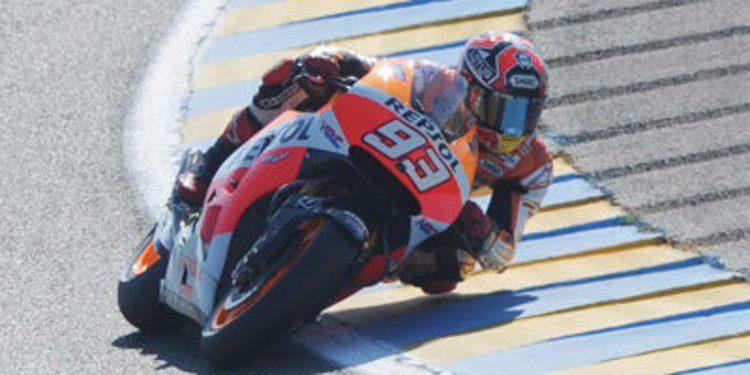 Marc Márquez supera a Iannone en el FP2 de MotoGP en Francia