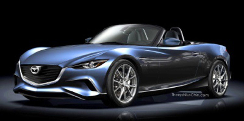 Recreación del próximo Mazda MX-5