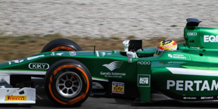 Las mejores imágenes de la GP2 y GP3 en Barcelona