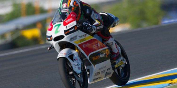 Efrén Vázquez se anota el FP3 de Moto3 en Le Mans