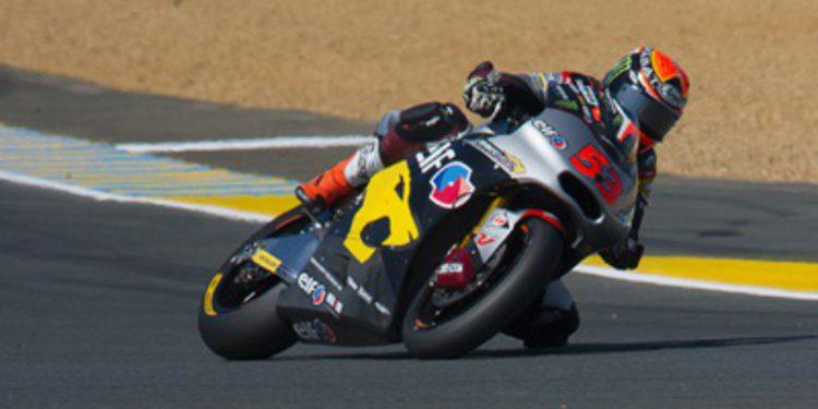 Tito Rabat huele pole desde el FP3 de Moto2 en Le Mans