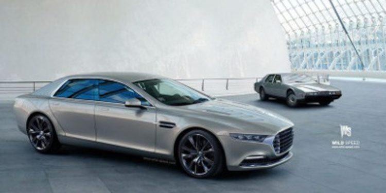 Primera imagen en render del nuevo Aston Martin Lagonda