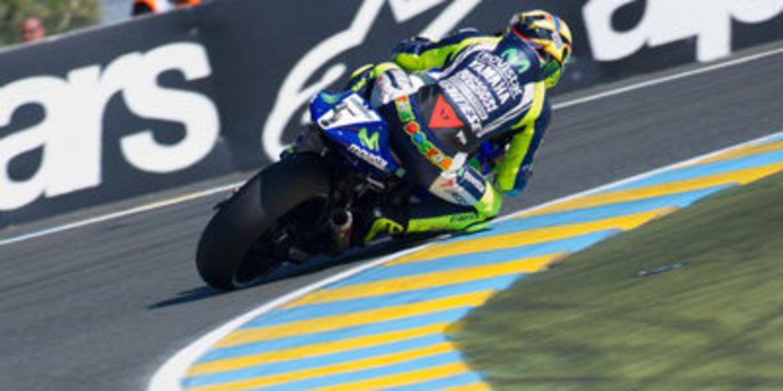 Directo warm up del GP de Francia de MotoGP 2014